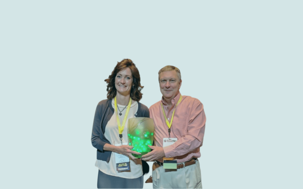 Staffing Receives WJ Award at TempNet Annual Conference