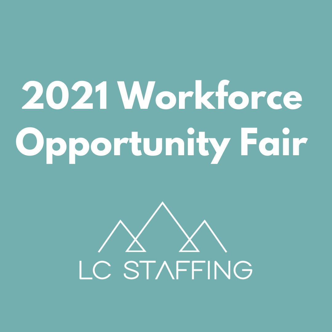 LC Staffing Presents at the 2021 Flathead Opportunity Fair